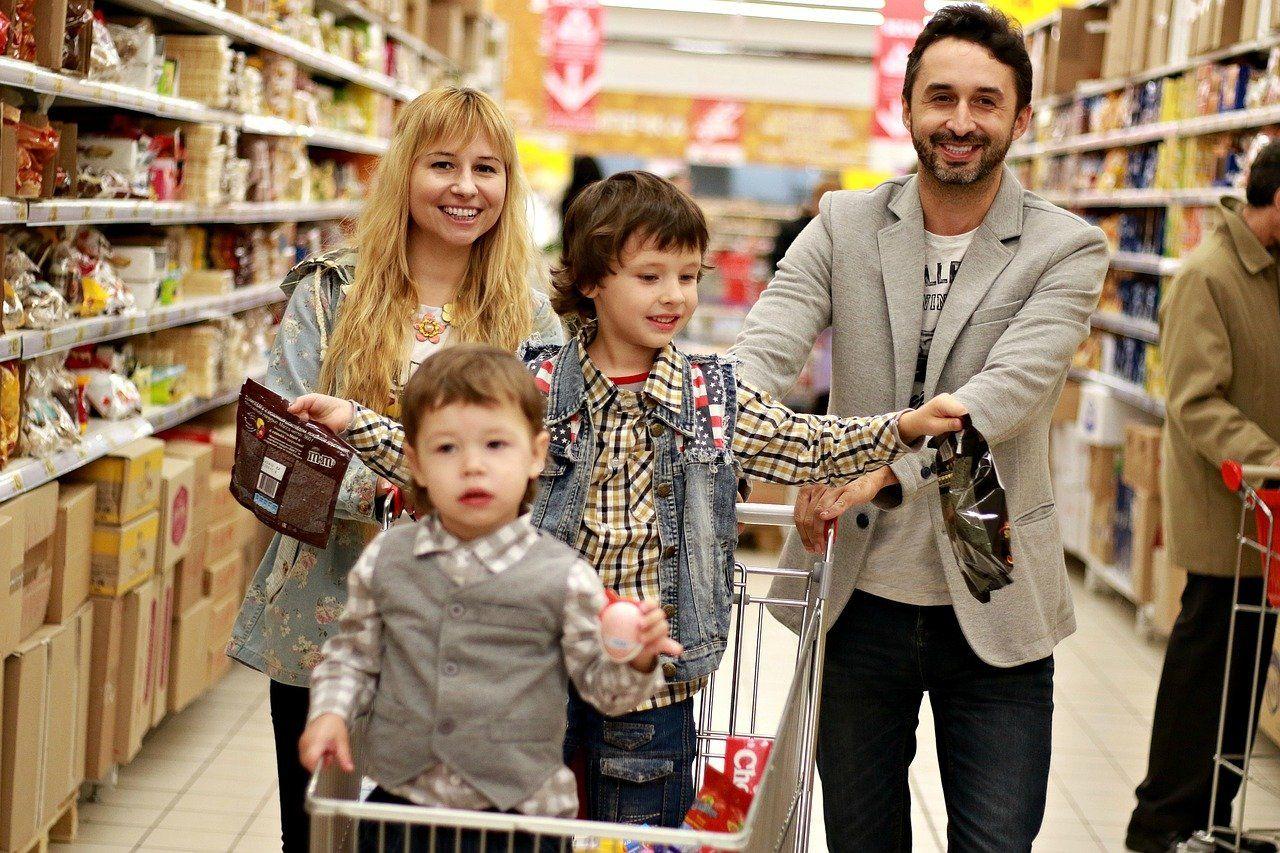 Den 9. Jdeme nakupovat!